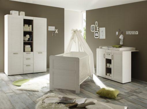 Landi Full Baby Room Furniture Set of Furniture Partial Set