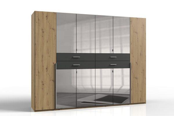 Denver Hinged Wardrobe High Quality Furniture Waterford